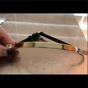 Henri Bendel Asscher Oval Luxe Choker Necklace